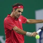 Federer en Shanghái