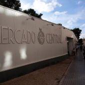 Mercado Central provisional de Elche.