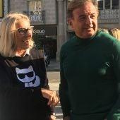 Corina Porro, Javier Guerra