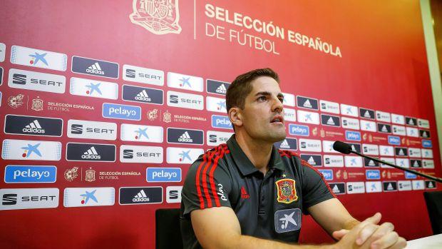 Robert Moreno, en rueda de prensa