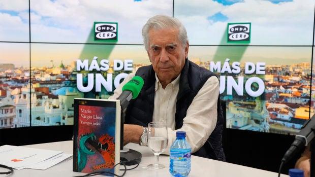 """Mario Vargas Llosa: """"Me documento para mentir con conocimiento de causa"""""""