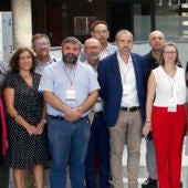 Integrantes de la Comisión Ejecutiva de la Federación Valenciana de Municipios y Provincias.
