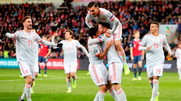Bélgica, Italia, Polonia, Rusia, Ucrania y España, clasificadas para la Eurocopa