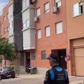 Un hombre se atrinchera en Leganés y mantiene retenida a su mujer