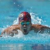 El nadador ilicitano Luis Paredes Marco.