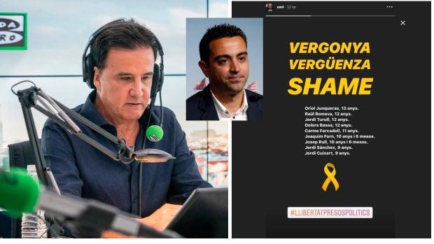 """José Ramón de la Morena: """"Al Xavi que yo conocí no le daba vergüenza la justicia española"""""""