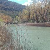 piraguistas rio jucar