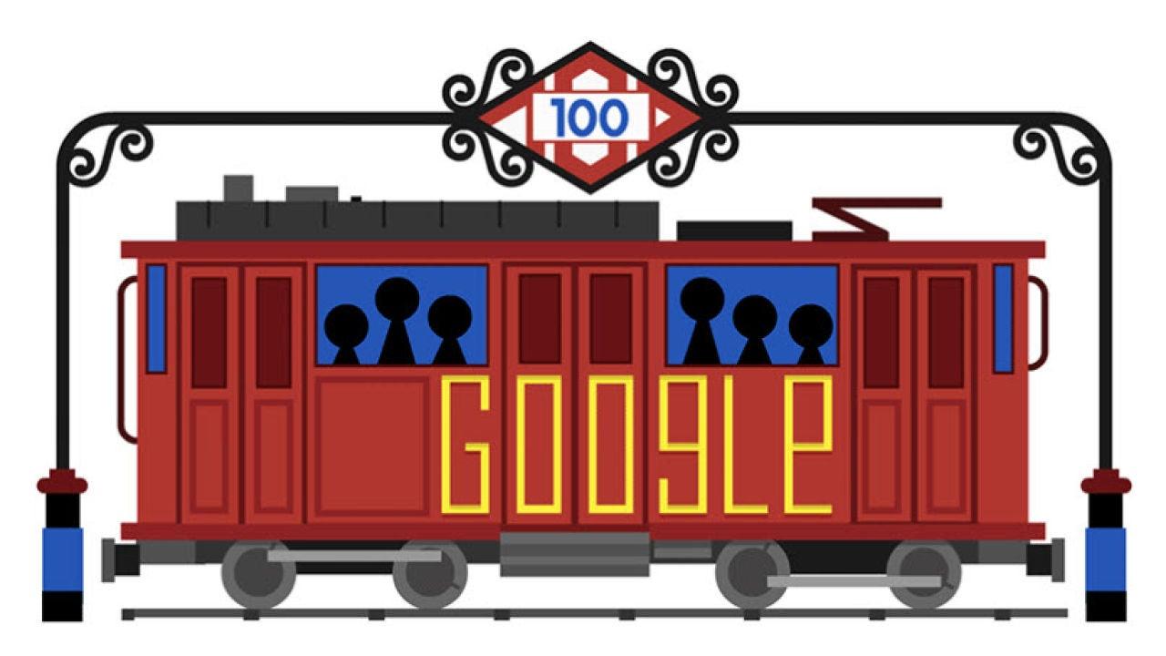 Google homenajea al  Metro de Madrid por su centenario