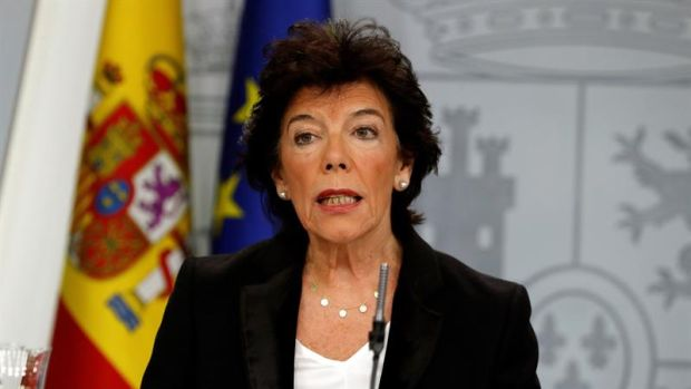 """Celaá evita incidir en la sentencia de los ERE y afirma que la derecha se ha """"autoexcluido"""" para impulsar un gobierno"""