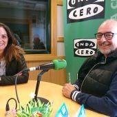 Jorge Peña y Selene Hernández de Proyecto Hombre León