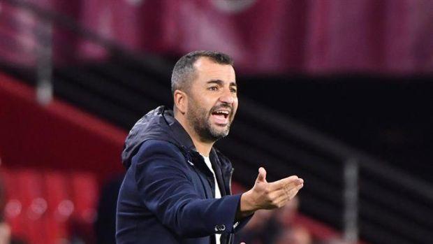 """Diego Martínez: """"Estamos muy ilusionados, Los Cármenes vivirá su primer partido europeo"""""""