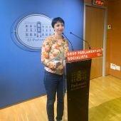 Silvia Cano, Portavoz de los socialistas en el Parlament
