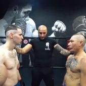 El 'Popeye ruso', antes de combatir en MMA