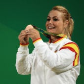 Lydia Valentín en los Juegos Olímpicos de Rio 2016