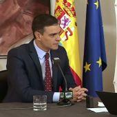 Pedro Sánchez, con Carlos Alsina