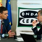 Pedro Sánchez responde a las preguntas de Carlos Alsina
