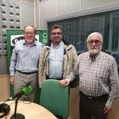 Vicente Pérez, Pedro Lucas y José Luis Muñoz, la tertulia de Onda Cero Cuenca