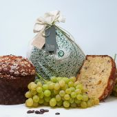 Panettone y uva del Vinalopó
