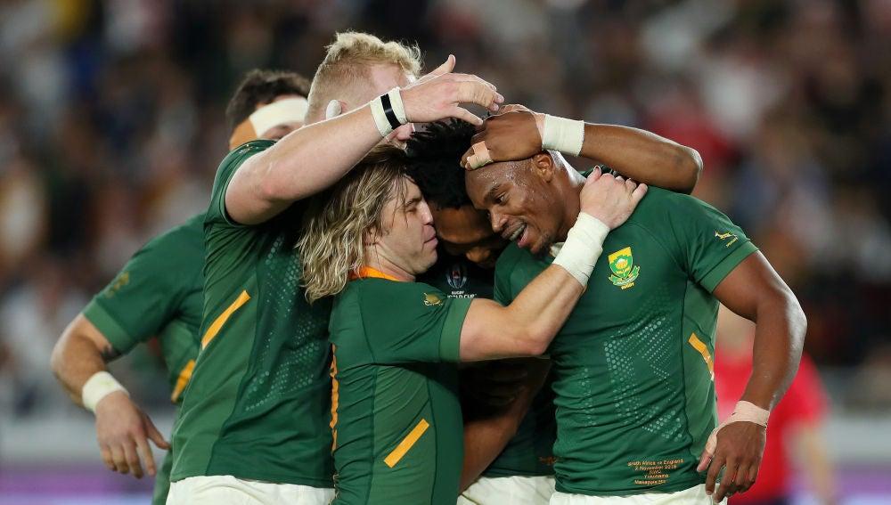 Sudáfrica celebra la victoria