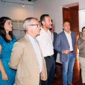 Visita del ministro de Cultura en funciones al Museo del Palmeral de Elche.