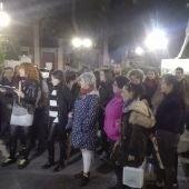 Concentración celebrada en la Plaza del Pilar de Ciudad Real