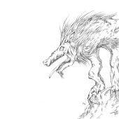 Ilustración del chupacabras