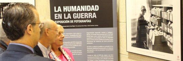 Exposición fotografica de la Cruz Roja y CEO
