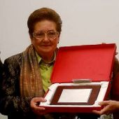 Rosario Lamela ganadora I Premio Mujer La Rioja