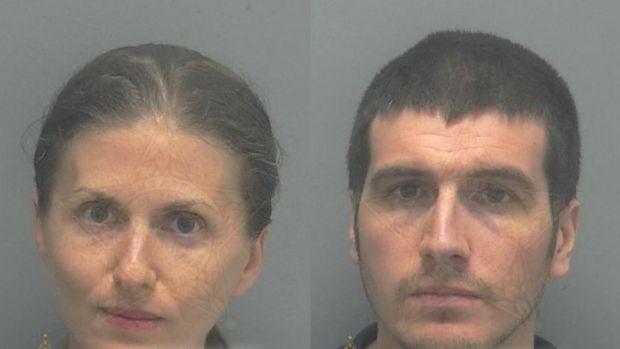 Sheila y Ryan O'Leary tras ser detenidos | Cape Coral Police (@CapePD)