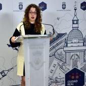 Sara Martínez, portavoz del equipo de Gobierno del Ayuntamiento de Ciudad Real