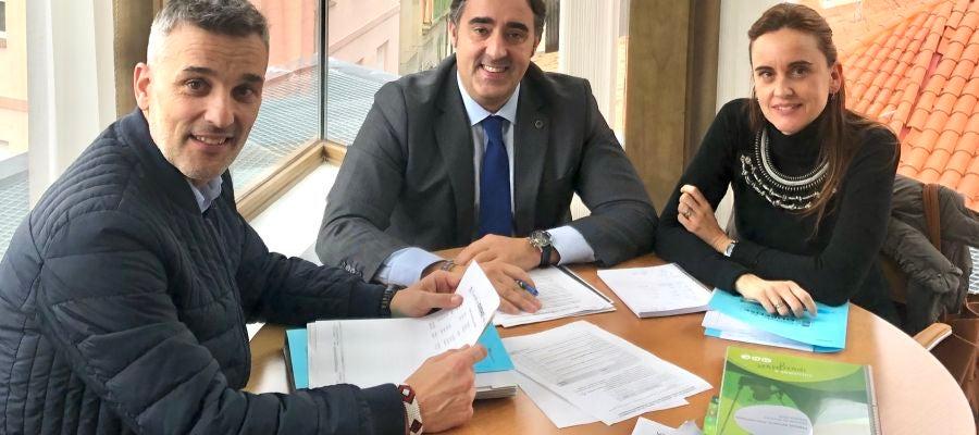 Jorge Pumar na reunión de Medio Ambiente