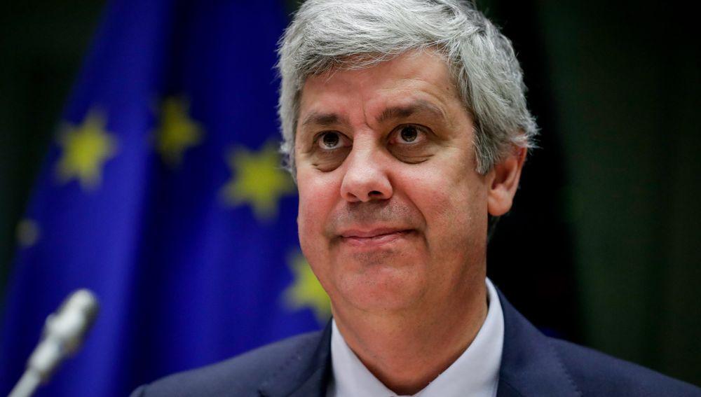 Mário Centeno, presidente del Eurogrupo