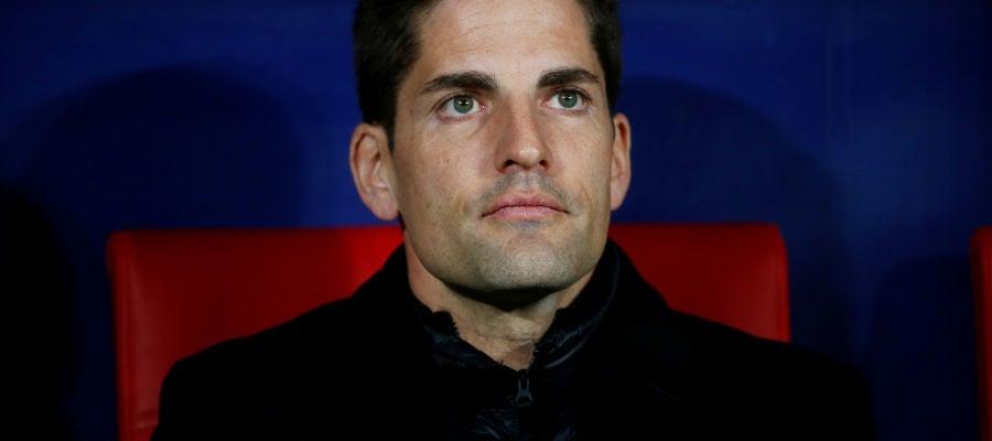 Robert Moreno, en el último partido de clasificación para la Eurocopa 2020