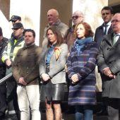 Se ha guardado un minuto de silencio en recuerdo de las víctimas en accidentes de tráfico