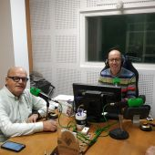 Manuel Baltar nos estudios de Onda Cero Ourense