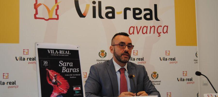 """L´alcalde José Benlloch ha anunciat l´arribada de  l´espectacle """"Sombras"""" de Sara Baras al Centre de Tecnificació Esportiva."""