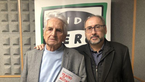 """Víctor Iriarte: """"Patxi Larrainzar escribió obras hace 40 años pero que siguen siendo de actualidad."""""""