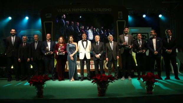Imagen de la VI Gala de los Premios del Altruismo.
