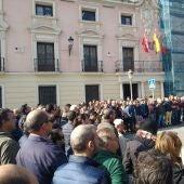 Concentración del sector del taxi en Alcalá