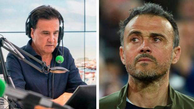 """De la Morena: """"Luis Enrique ha sido el instigador de todo el lío diciendo que quería volver"""""""