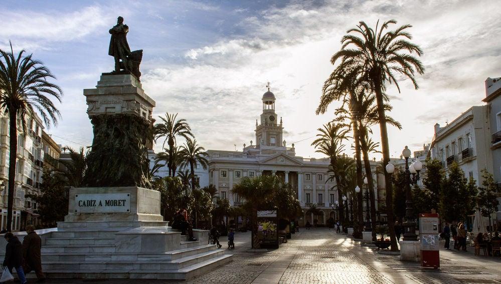 El Ayuntamiento de Cádiz, en una foto de archivo