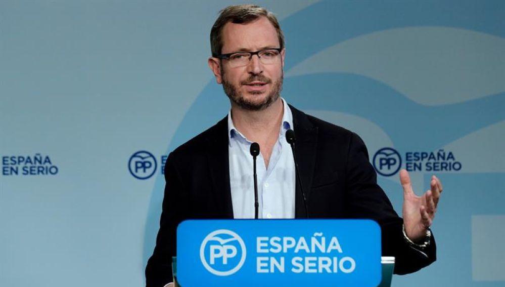El portavoz del Senado, Javier Maroto