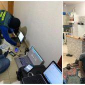 Fotografías de la operación facilitadas por la Guardia Civil.