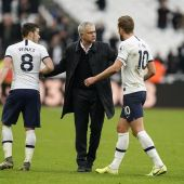 Mourinho, en su nueva etapa en el Tottenham Hotspur.