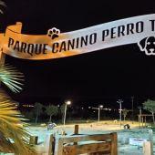 Parque canino 'Perro Tarzán' de Aspe.