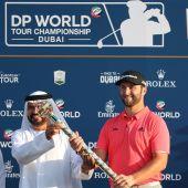 El golfista español, Jon Rahm.