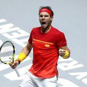 Rafa Nadal tenista número uno del mundo.