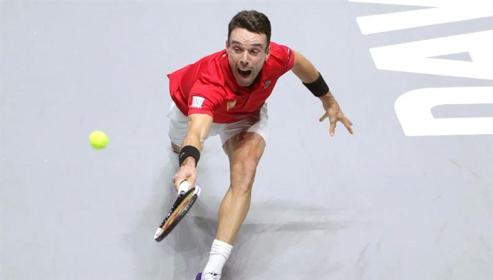 El tenista español, Roberto Bautista.