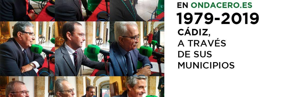 1979-2019: Cádiz, a través de sus municipios