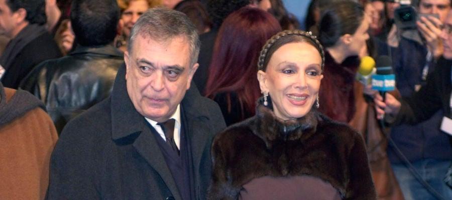 El cineasta Javier Aguirre junto a su mujer, la actriz Esperanza Roy